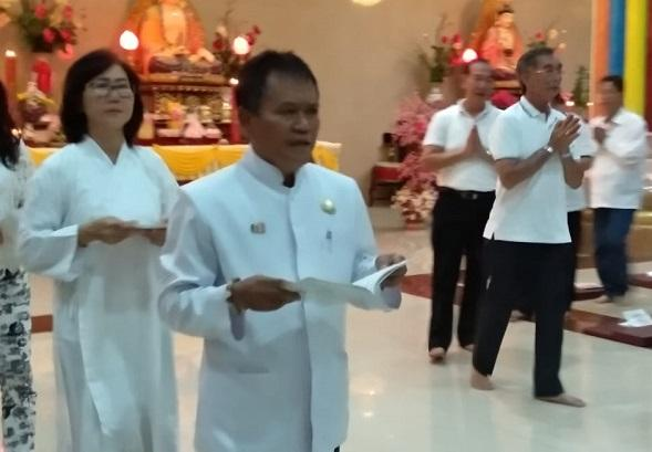 Umat Budha di Sibolga Gelar Persiapan Penyambutan Waisak 2563/2019
