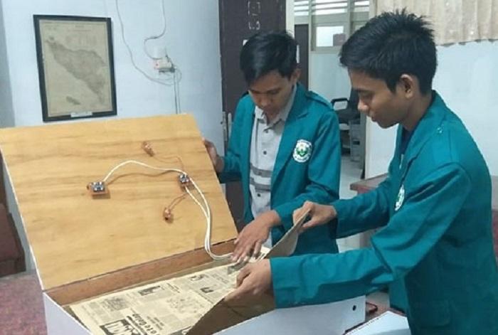 Ciptakan Hodmach, Mahasiswa Unimed Bikin Mesin Pendeteksi Sejarah