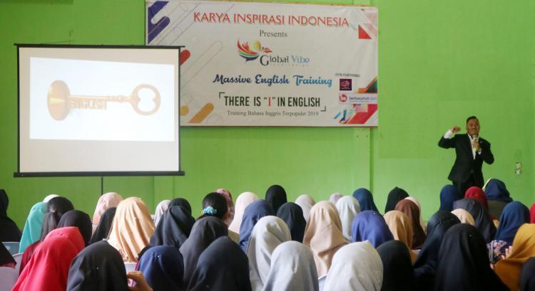 Disambut Ratusan Pelajar dan Guru di Kutacane, Seminar Bahasa Inggris Global Vibe Inspiration Sukses Masuki Aceh