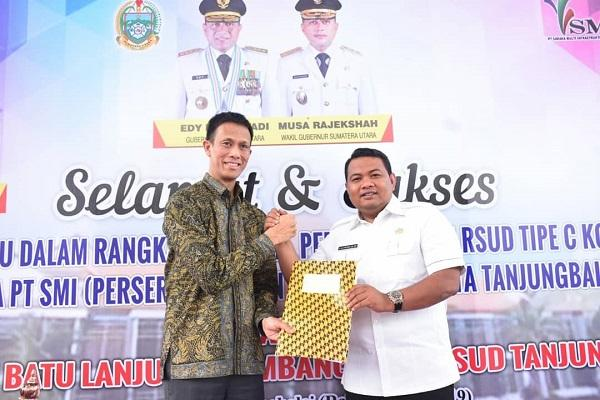 Bangun Rumah Sakit, Pemko Tanjungbalai Tandatangani MoU dengan PT SMI