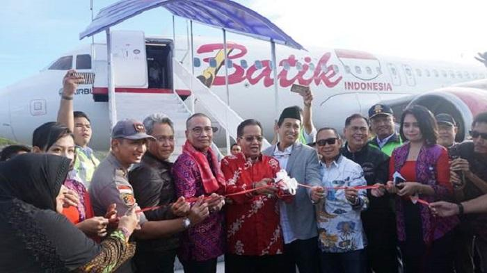 Batik Air Resmi Terbang dari Soekarno-Hatta ke Luwuk