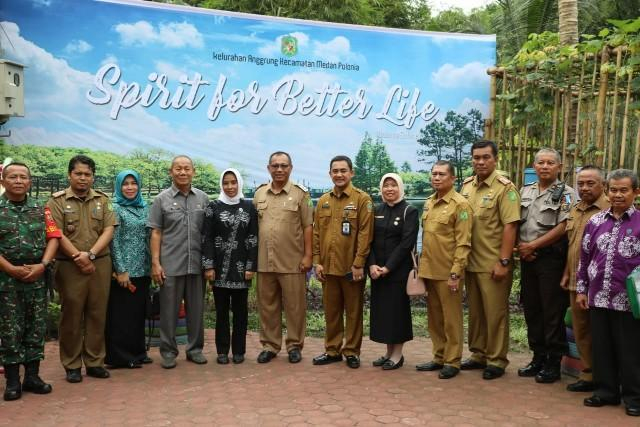Kelurahan Anggrung Medan Polonia Jadi Nominasi Kelurahan Terbaik Tingkat Provinsi Sumut