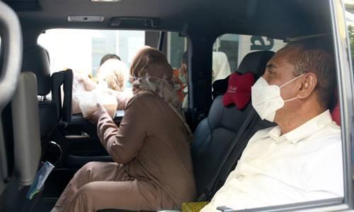 Gubernur Resmikan Kampung Ramadan, Membeli Hanya Bisa Lewat Drive Thru dan Online