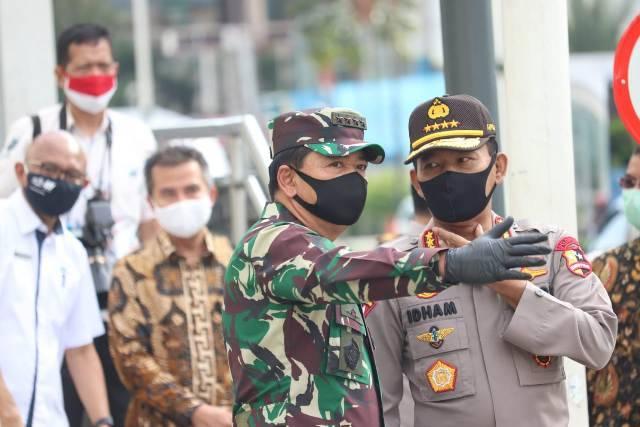 New Normal, TNI dan Polri Dikerahkan Awasi 1.800 Titik Pendisiplinan Protokol Kesehatan