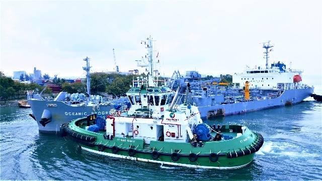 Pelabuhan Sei Pakning Pelindo 1 Riau Tunjukkan Kinerja Positif