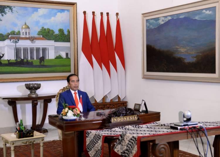 Presiden Jokowi Ajak Negara Gerakan Non-Blok Tingkatkan Solidaritas Politik Lawan Covid-19
