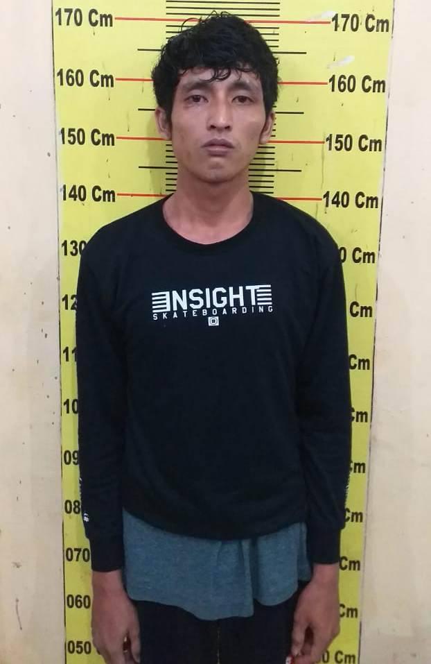 Maling di SMK Yayasan Istiqlal Delitua, Pria Ini Nyaris Dihajar Massa, Untung Diamankan Polisi