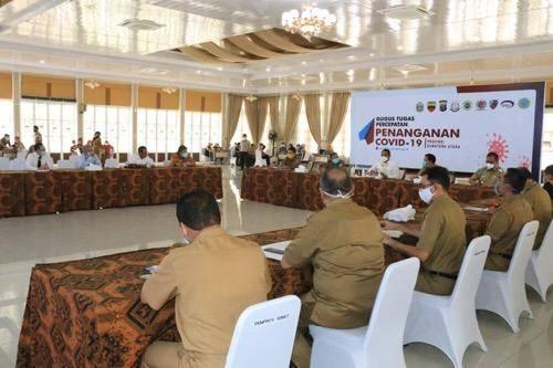 Tangani Covid-19, Pemko Medan Koordinasi dengan Pemko Binjai dan Pemkab Deliserdang