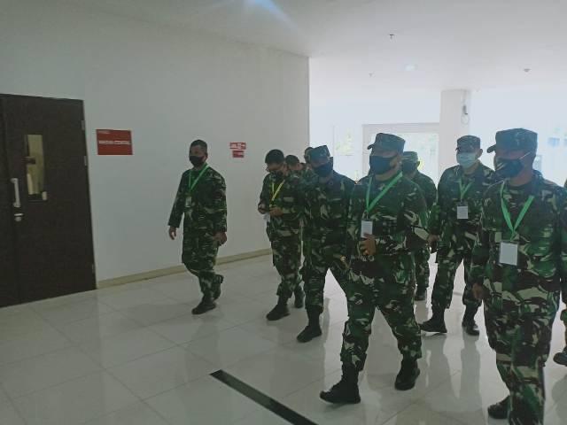 Pangkogabwilhan I Tinjau RS Darurat Khusus Covid-19 di Wisma Atlet Kemayoran