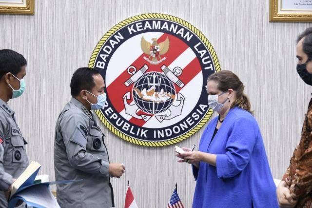 Kepala Bakamla RI Terima Kunjungan Charge D' Affaires Dubes Amerika Serikat