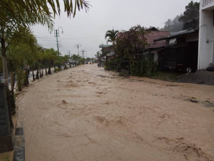 Banjir Bandang Aceh Tengah, Sejumlah Warga Mengungsi
