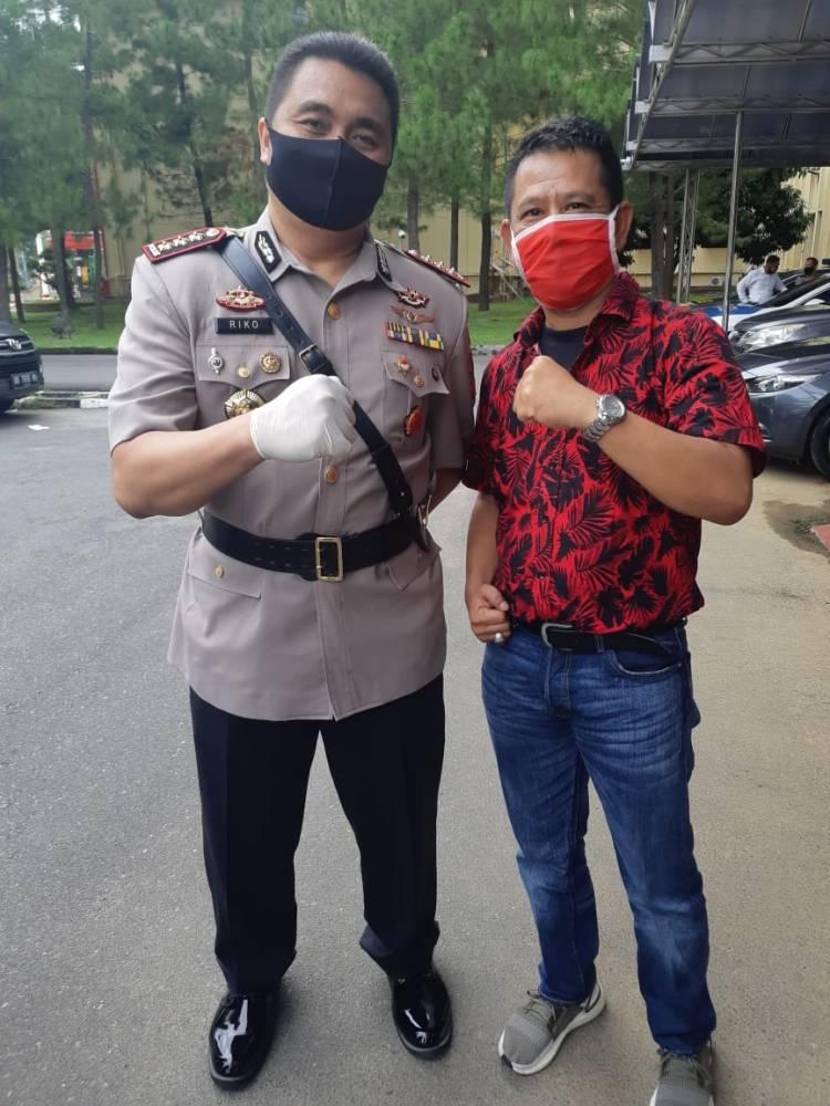 Kapolrestabes Medan Kombes Riko Sunarko Komitmen Berantas Komplotan Kejahatan Jalanan di Kota Medan