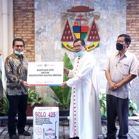 Pelindo 1 Berbagi APD ke Rumah Sakit dan Puskesmas di Empat Provinsi se-Indonesia