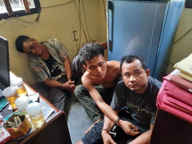 Oknum Polisi Pesta Sabu di Sei Mencirim, 7 Pria Diamankan Polsek Kutalimbaru