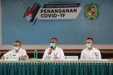 DPRD Provinsi Sumut Apresiasi Langkah Pemko Medan Dalam Melakukan Percepatan Penanganan Covid-19 di Kota Medan