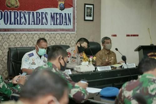Malam Takbiran Polrestabes Medan Bakal Lakukan Penyekatan Jalan, Ini Komentar Pemko Medan