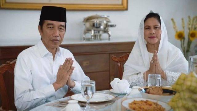 Presiden Jokowi dan Ibu Negara Ucapkan Selamat Idul Fitri 1441 H
