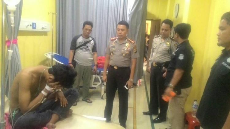 Berusaha Kabur dan Melawan, Residivis Ditembak Polisi