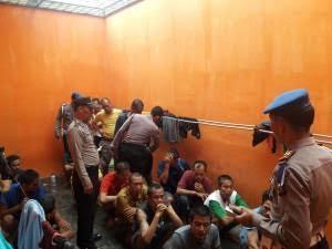 Cegah Tahanan Kabur, RTP di Deli Serdang Dirazia