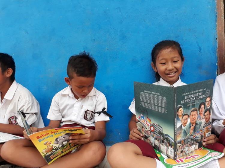 Sekolah Ramah Anak Dukung Anak Berpendapat dan Berkreasi