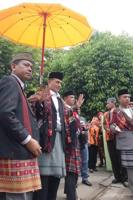 Dewan Adat Raja Angkola Sipirok Beri Spirit Ijeck Menangkan Pilgubsu