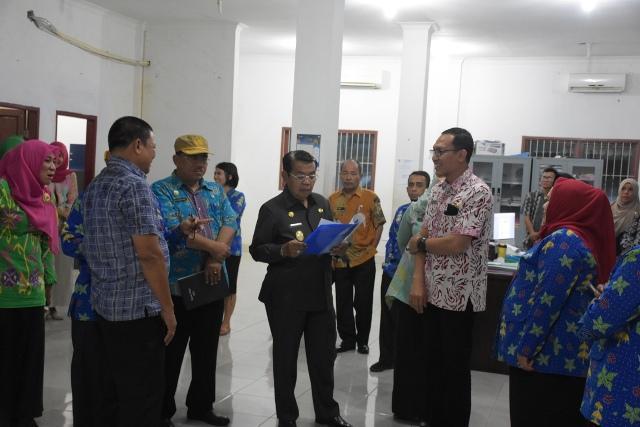 Hari Pertama Kerja Pasca Lebaran, Plt Bupati Deli Serdang Sidak Instansi Pelayanan Publik