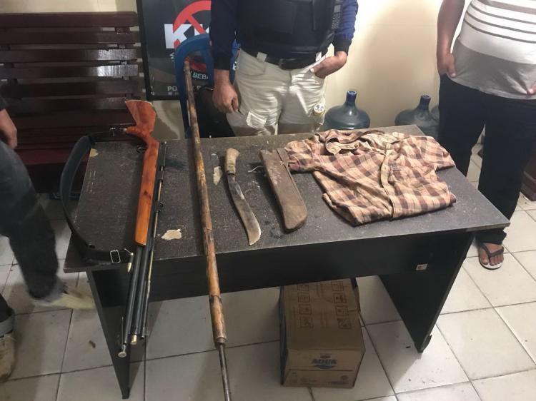 Sempat Berusaha Kabur, Pembunuh Petani di Panyabungan Ditembak Polisi