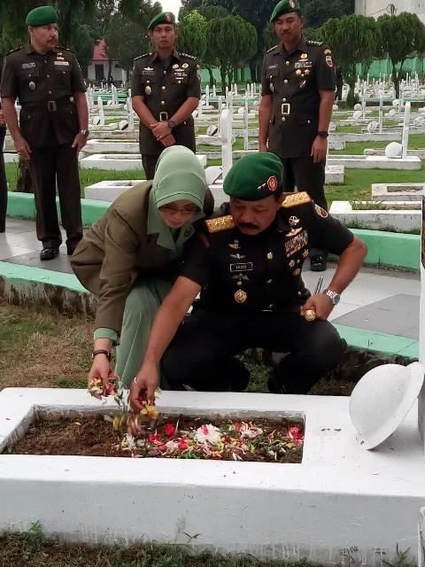 Sambut HUT ke-68, Kodam I/BB Laksanakan Ziaran ke Taman Makam Pahlawan