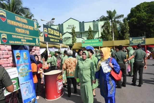Kodam I/Bukit Barisan Gelar Bazaar Ramadan 1439 H