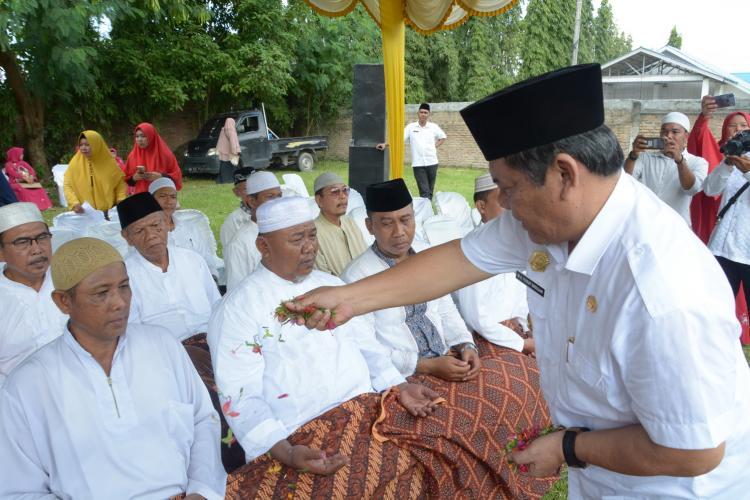 Wakil Bupati Deli Serdang Hadiri Halal Bihalal dan Pengajian Akbar se-Kecamatan Tanjung Morawa