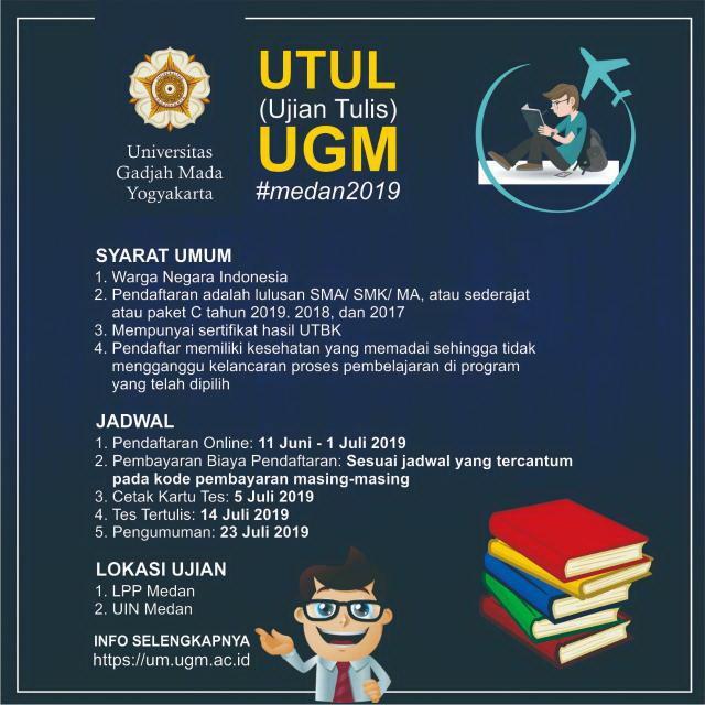 UGM Selenggarakan Seleksi Mahasiswa Baru di Medan