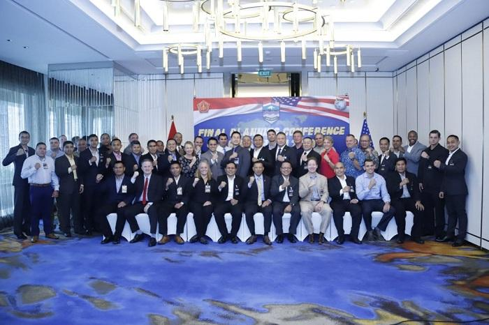 TNI USPACOM Laksanakan Konferensi FPC Latma Gema Bakti di Jakarta
