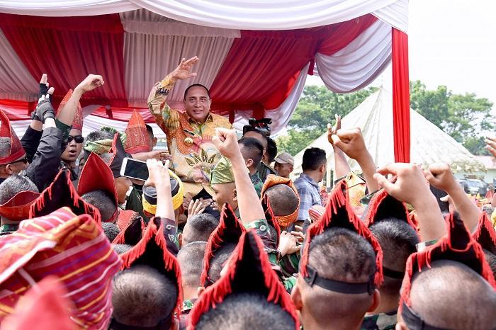 Hadiri Perayaan HUT ke-69 Kodam I/BB, Edy Rahmayadi: Saya Rindu dengan Kalian