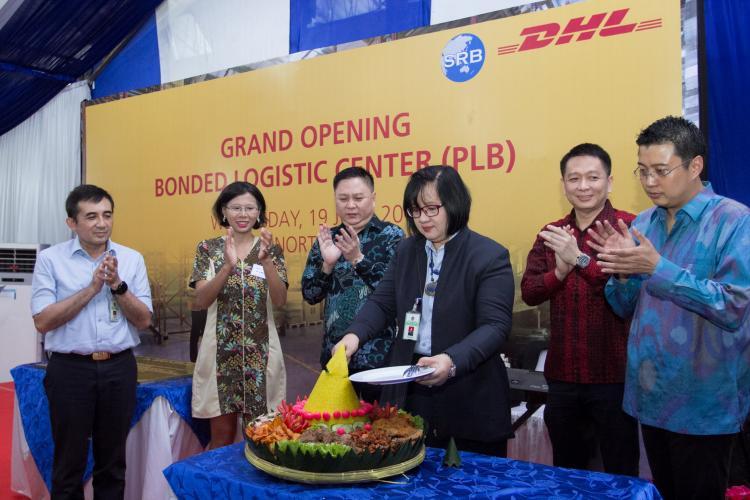 DHL Global Forwarding dan PT di Samudera Raya Berjaya Meresmikan Gudang Pusat Logistik Berikat di Medan
