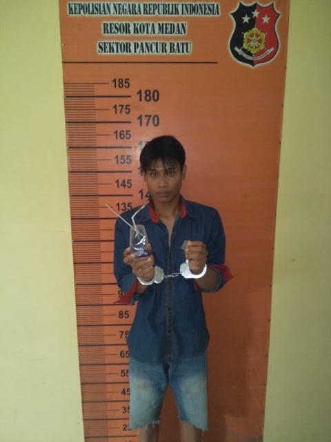 Polisi Tangkap Pemakai Narkoba di Pancurbatu
