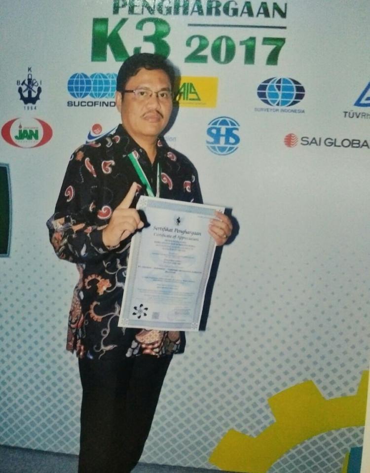 Pelindo 1 Raih Penghargaan Sistem Manajemen Keselamatan dan Kesehatan Kerja