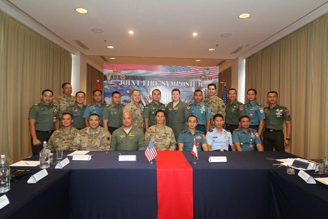 TNI Gelar Joint Fire Symposium bersama USPACOM dan Hawaii National Guard