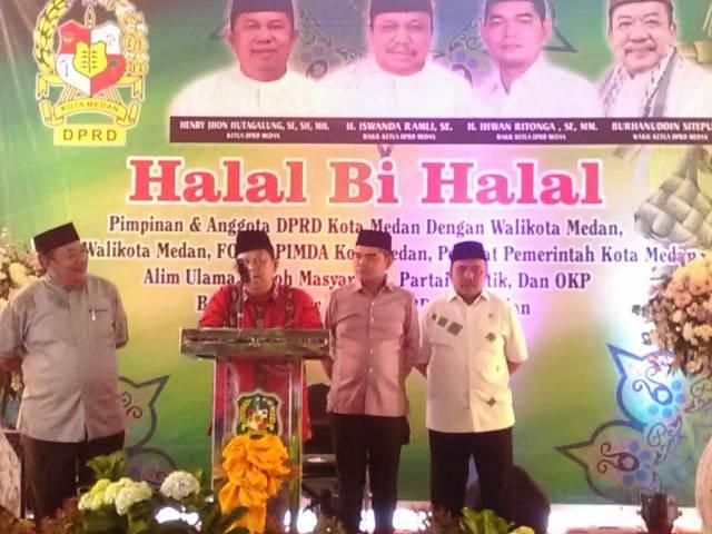 Ketua DPRD Medan Berharap Koleganya Kembali Terpilih di Pileg 2019