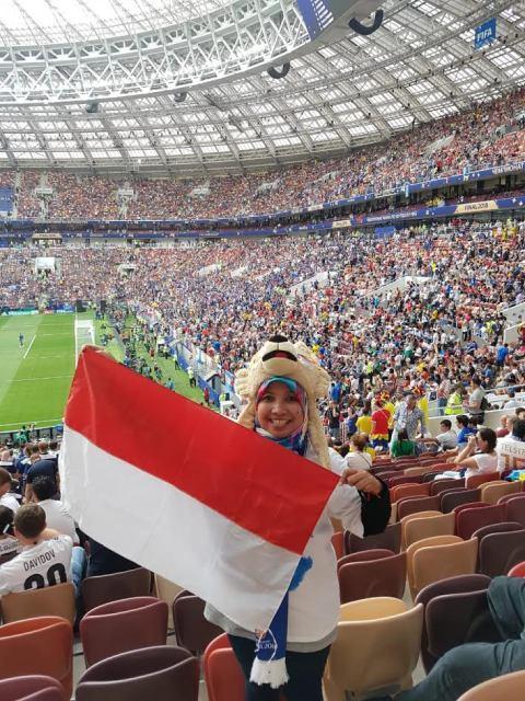 Pelanggan Pertama Traveloka, Dokter Rima Tonton Final Piala Dunia 2018 di Rusia