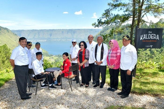 Agenda ke Sibisa Tobasa, Presiden Jokowi Tekankan Pembangunan Pariwisata Danau Toba Terintegarsi