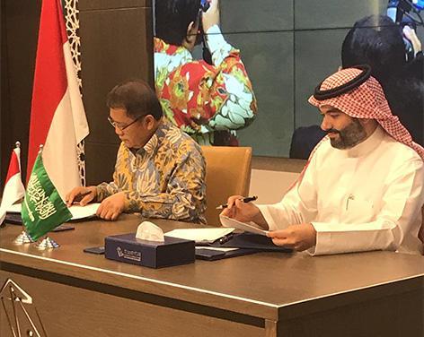Tanda Tangani Nota Kesepahaman, Indonesia Arab Saudi Perkuat Kolaborasi Digital Dua Negara
