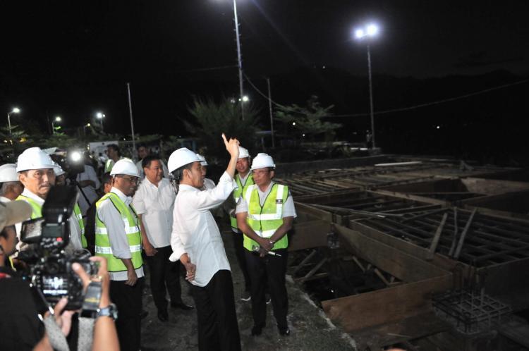 Presiden Jokowi Minta Arsitektur Pelabuhan di Sekitar Danau Toba Dibuat Lebih Modern