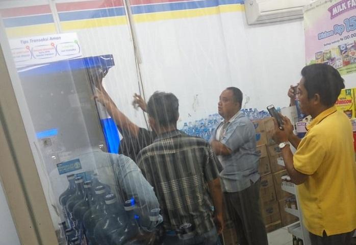 Maling Bobol Gerai Indomaret di Jalan Kejaksaan Medan