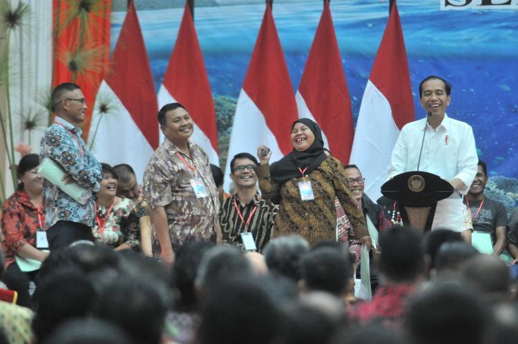 Daerahnya Cantik dan Indah, Presiden Jokowi: Suatu Saat, Sulut Jangan Kalah Dengan Bali
