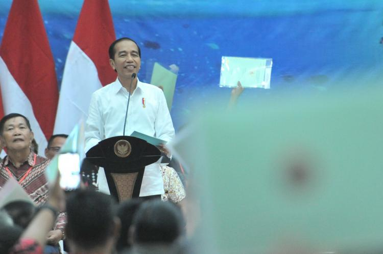 Presiden Jokowi: Pilpres Sudah Selesai, Mari Kita Berangkulan Kembali