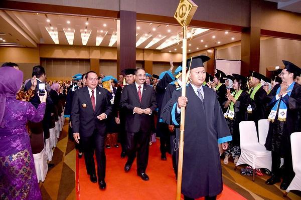 Hadiri Wisuda Politeknik Pariwisata Medan, Gubernur: SDM Pariwisata Sangat Dibutuhkan di Sumut