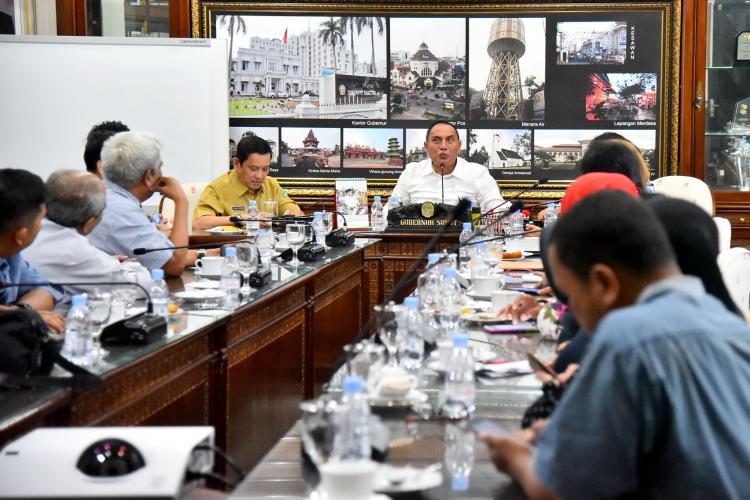 Gubernur Ajak Semua Elemen Bersatu Membangun Sumut