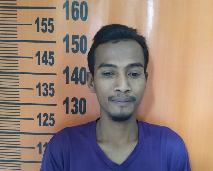Edarkan Sabu, Joy Ditangkap Polsek Sunggal di Jalan Perjuangan