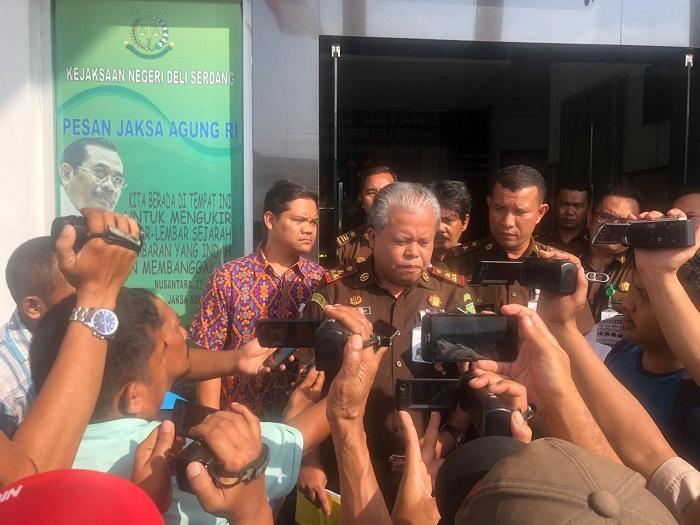 Diduga Korupsi Rp 10 Milyar, Lima Mantan Pejabat PDAM Tirtanadi Ditahan