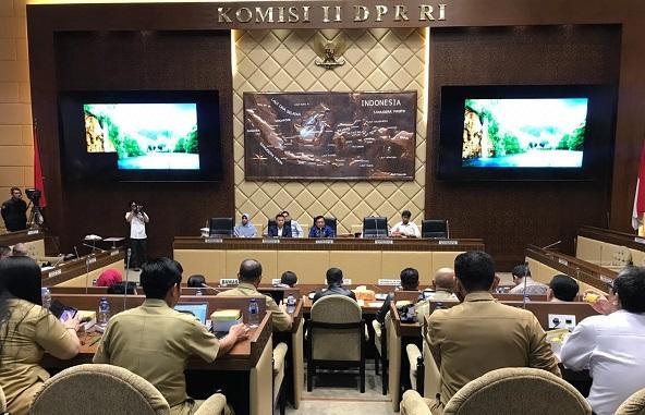 DPR RI, KPU, Bawaslu, dan Kemendagri Bahas Tahapan Pilkada 2020